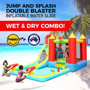 Happy Hop Splash Double Blaster Inflatable Water Slide | Jumping Castle - 9247