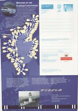 GB Stamps Aerogram / Air Letter APS130 - 1st NVI Flannan Lighthouse Issue 1998