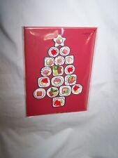Papyrus Christmas Greeting Card/Envelope; Sushi Tree
