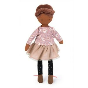 Moulin Roty Les Parisiennes Mademoiselle Rose Doll 28 cms from Wyestyles
