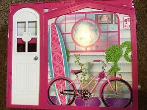 Barbie Glam Vacation Beach House Fold N' Go 2009 Mattel
