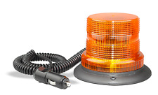 LED AMBER STROBE BEACON TRUCK TRAILER EMERGENCY 128AMM