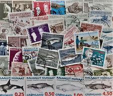 **************** 50 verschiedene Marken ----Grönland----  gestempelt