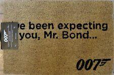 """Collectible Door Mat - """"We've Been Expecting You Mr Bond ...."""" James Bond 007"""
