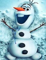 Josh Gad Signed Autographed 8x10 Photo Frozen Olaf Ice Age COA VD