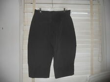 NWOT Lilith France ~Art to Wear~ Olive Cropped 'Riding' Style Wide Leg Pant ~ LL