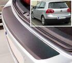 VW Golf Mk5 3/5 PUERTAS - estilo Carbono Parachoques trasero PROTECTOR