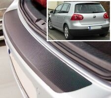 VW GOLF MK5 3/5 PORTES - CARBONE STYLE Pare-chocs arrière protection