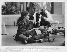 ORIGINAL 1985 PHOTO-JAMI GERTZ-KEVIN BACON-QUICKSILVER-CRIME-DRAMA-THRILLER-BIKE