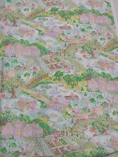"""Country Life w/Bunnies and Kitties: 100% Cotton Sateen Finish, 54"""" w, 3 yd. pc."""
