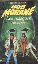 BOB MORANE 97 Pocket Marabout 80 Les masques de soie Henri VERNES livre roman