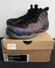 Nike Air Foamposite One Eggplant Purple Sneakers Mens Size 11.5 Used Condition