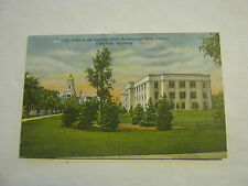 Vista of Supreme Court Building, Cheyenne, Wyoming 1940's Post Card (GS19-48)