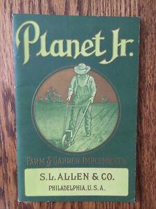 Antique Planet Jr. Farm And Garden Implements Vintage Catalog c. 1911
