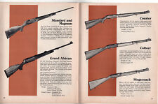 1974 COLT American Heritage Booklet GUNS Revolvers FIREARMS Weapons RIFLES