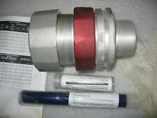 """Crouse-Hinds TMCX2001 Exp. Proof 2"""" Bulkhead Connector for MC&Teck Cables w/ TSC"""