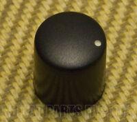 007-9771-000 Fender Black Rumble Bass Amp Knob w/ White Indicator Dot D-Shaft