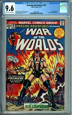 AMAZING ADVENTURES 18 CGC 9.6 1st KILLRAVEN HG Wells WAR OF THE WORLDS New Case