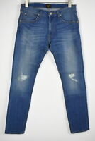 RRP £90 LEE LUKE SLIM TAPERED Men's W31/L34 Stretch Distressed Faded Jeans 9079*