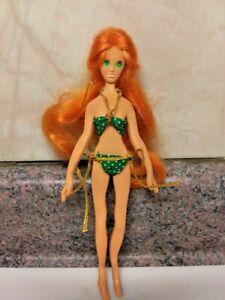 Vintage Red Hair Fashion Flatsy Doll - Ideal 1969