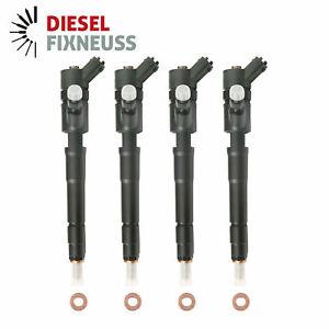 4x Injektor Einspritzdüse Ford C-Max Fiesta Focus III 1,5 / 1,6 TDCi 0445110489