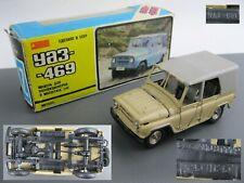 UAZ-469 1:43 A34 Car model metal diecast Legendary made in USSR Soviet Russia