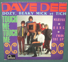 Dave Dee Dozy Beaky Mick & Tich Touch Me EP French Fontana NM 1967