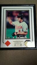 Cal Ripken Highland Mint Photo Mint Game Used Jersey Plaque HOF Orioles /500