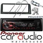 Peugeot 106 Pioneer CD MP3 USB AUX Amber Car Stereo Radio Player & Fitting Kit