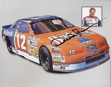 "1995 SIGNED DERRIKE COPE ""BADCOCK HOME FURNISHISH"" #12 NASCAR WIN CUP POSTCARD"