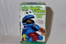 *RARE* *BRAND NEW* Sesame Street Cookie Monster Cookie Crunch 1999 *COLLECTIBLE*