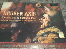 Broken Axis: The Invasion of Romania, 1944 - Avalanche Press War Board Game New!