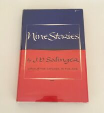 Nine Stories - JD Salinger 1953 Early Book Club Edition HC DJ