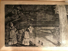 1872 Harper's Weekly; Winslow Homer; Catskill Mountains