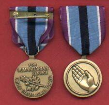 Humanitarian Service medal with ribbon bar