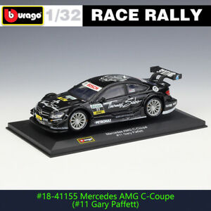 BBURAGO 1:32 Mercedes-Benz AMG C-Coupe DTM #11 race car DS WRC rally car model