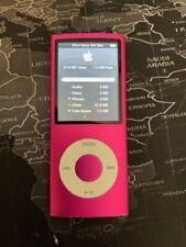 Ipod Nano 4th Gen 8 GB Pink A1285 2008 Apple