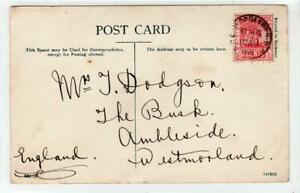 BRITISH GUIANA: 1908 picture postcard to Westmorland, England (C63784)
