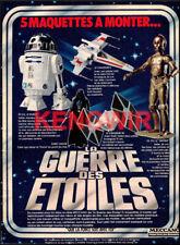 STAR WARS  Vintage 80's Print Ad  Publicité  Années 80