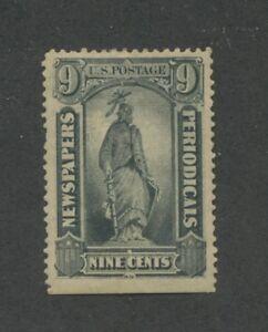 1875 United States Newspaper & Periodical Stamp #PR14 Mint Hinged Original Gum