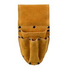 Wo Travail Sac Outil Pochette ceinture en cuir pour Électricien Charpentier Maintenance Worker