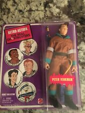 The Real Ghostbusters 6 Inch Figure Retro-Action - Peter Venkman Brown Suit New