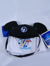 Build a Bear DISNEYLAND 60th Mickey Mouse Ears Hat Tee Shirt New with Tags