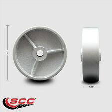 Scc 4 Semi Steel Cast Iron Wheel Only 12 Bore 350 Lbs Capacity