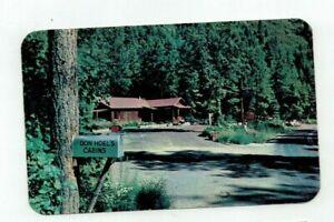 "AZ Flagstaff Arizona 1960 post card  ""Don Hoel's Cabins"""