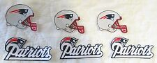 New England Patriots no sew iron on appliques