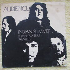 AUDIENCE SINGLE / INDIAN SUMMER  VG / VG 1971
