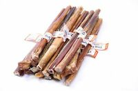 GoGo Best Bully Sticks Large 12 inch 100% All Natural Dog Treat chew  - 25 Pack