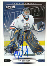TY CONKLIN OILERS AUTOGRAPH AUTO 05-06 UPPER DECK VICTORY #79 *22003