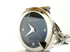 GUCCI 122.5 CHIODO Luxus Armband Uhr mit 3 Diamanten / Diamond LADIES WATCH